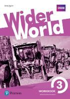Cover for Wider World 3 Workbook with Extra Online Homework Pack by Sheila Dignen