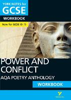 Cover for AQA Poetry Anthology - Power and Conflict: York Notes for GCSE (9-1) Workbook by Beth Kemp
