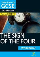 Cover for The Sign of the Four: York Notes for GCSE (9-1) Workbook by Lyn Lockwood