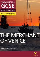 Cover for The Merchant of Venice: York Notes for GCSE (9-1) by Emma Page
