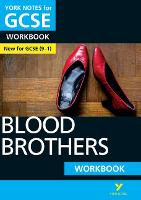 Cover for Blood Brothers: York Notes for GCSE (9-1) Workbook by Emma Slater