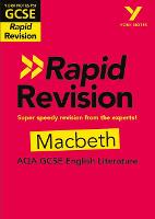 Cover for York Notes for AQA GCSE (9-1) Rapid Revision: Macbeth by Susannah White