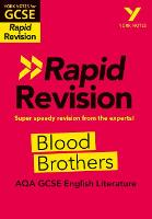 Cover for York Notes for AQA GCSE (9-1) Rapid Revision: Blood Brothers by Emma Slater