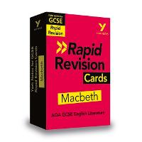Cover for York Notes for AQA GCSE (9-1) Rapid Revision Cards: Macbeth by Susannah White