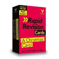 Cover for York Notes for AQA GCSE (9-1) Rapid Revision Cards: A Christmas Carol by Lyn Lockwood