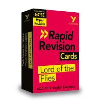 Cover for York Notes for AQA GCSE (9-1) Rapid Revision Cards: Lord of the Flies by Beth Kemp