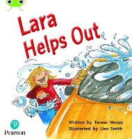 Cover for Bug Club Phonics Fiction Reception Phase 4 Set 12 Lara Helps Out by Teresa Heapy