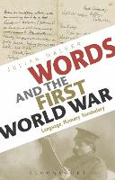 Cover for Words and the First World War  by Julian Walker
