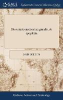 Cover for Dissertatio Medica Inauguralis, de Apoplexia  by John Bolton