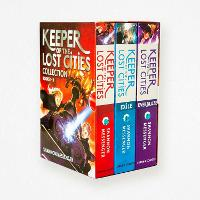 Cover for Keeper of the Lost Cities x 3 box set by Shannon Messenger