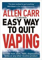 Cover for Allen Carr's Easy Way to Quit Vaping  by Allen Carr