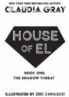 Cover for House of El Book One The Shadow Threat by Claudia Gray