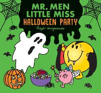 Cover for Mr. Men Halloween Party by Adam Hargreaves