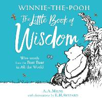 Cover for Winnie-the-Pooh's Little Book Of Wisdom by A. A. Milne
