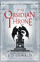 Cover for The Obsidian Throne by J.D. Oswald