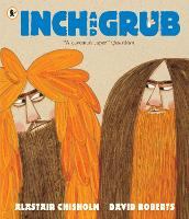 Cover for Inch and Grub: A Story About Cavemen by Alastair Chisholm