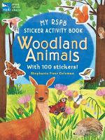 Cover for My RSPB Sticker Activity Book: Woodland Animals by Eryl Nash