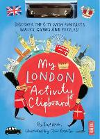 Cover for My London Activity Clipboard by Eryl Nash
