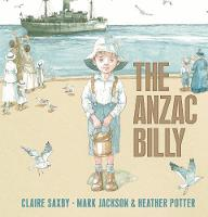 Cover for The Anzac Billy by Claire Saxby