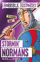 Cover for Stormin' Normans by Terry Deary, Martin Brown