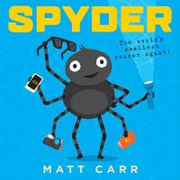 Cover for Spyder by Matt Carr