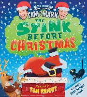 Cover for The Stink Before Christmas by Sam Nixon, Mark Rhodes