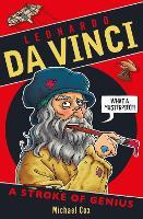 Cover for Leonardo da Vinci: A Stroke of Genius by Michael Cox