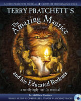 Cover for Terry Pratchett's The Amazing Maurice and his Educated Rodents by Terry Pratchett, Matthew Holmes