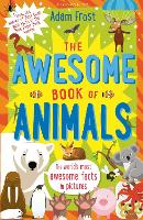 Cover for The Awesome Book of Animals by Adam (Author) Frost