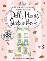 Cover for Doll's House Sticker Book by Jane Chisholm
