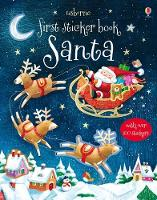 Cover for First Sticker Book Santa by Sam Taplin, Sam Taplin