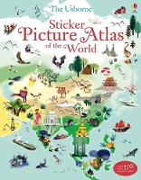 Cover for Sticker Picture Atlas of the World by Sam Baer