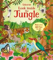 Cover for Look Inside the Jungle by Minna Lacey
