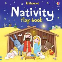 Cover for Nativity Flap Book by Sam Taplin, Sam Taplin