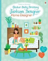 Cover for Sticker Dolly Dressing Fashion Designer Home Designer by Emily Bone