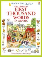 Cover for First Thousand Words in Arabic by Heather Amery, Heather Amery