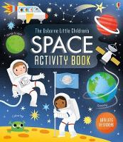 Cover for Little Children's Space Activity Book by Rebecca Gilpin