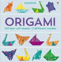 Cover for Origami Tear off Pad by Lucy Bowman