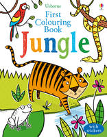 Cover for First Colouring Book Jungle by Alice Primmer