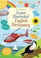Cover for Junior Illustrated English Dictionary by Hannah Wood