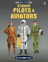 Cover for Sticker Dressing Pilots and Aviators by Jerome Martin
