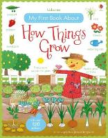 Cover for My First Book About How Things Grow by Felicity Brooks, Felicity Brooks
