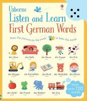 Cover for Listen and Learn First Words in German by Sam Taplin, Mairi Mackinnon