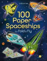 Cover for 100 Paper Spaceships to fold and fly by Jerome Martin