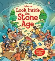 Cover for Look Inside the Stone Age by Abigail Wheatley, Abigail Wheatley