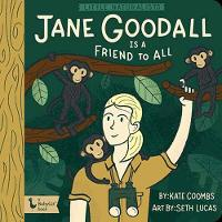 Cover for Little Naturalists Jane Goodall and the Chimpanzees by Kate Coombs, Seth Lucas