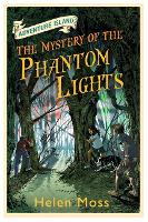 Cover for Adventure Island: The Mystery of the Phantom Lights Book 14 by Helen Moss, Roy Knipe