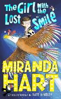 Cover for The Girl with the Lost Smile by Miranda Hart