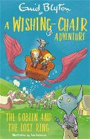 Cover for A Wishing-Chair Adventure: The Goblin and the Lost Ring  by Enid Blyton