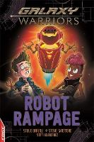 Cover for EDGE: Galaxy Warriors: Robot Rampage by Steve Skidmore, Steve Barlow